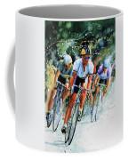Tour De Force Coffee Mug by Hanne Lore Koehler