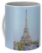 Tour Eiffel 3 Coffee Mug