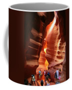 Touring Antelope Canyon Coffee Mug