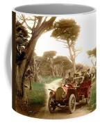 Royal Tourist Touring Car On The 17 Mile Drive Pebble Beach California Circa 1910 Coffee Mug