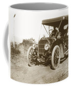 Touring Car On The Road California 1906 Coffee Mug