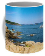 Touring The Rocky Shore Coffee Mug