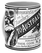 Tourism Australasia, 1889 Coffee Mug