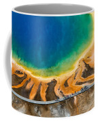 Tourists At Grand Prismatic Coffee Mug