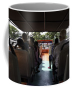 Tourists On The Sight-seeing Bus Run By The Hippo Company In Singapore Coffee Mug by Ashish Agarwal