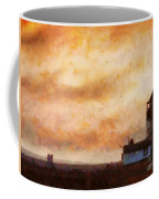 Towards The Shore Coffee Mug by Pixel Chimp