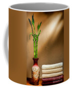 Towels And Bamboo Coffee Mug