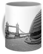 Tower Bridge And London City Hall - Uk Coffee Mug