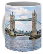 Tower Bridge Panorama Coffee Mug