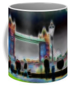 Tower Bridge Surrealism Coffee Mug