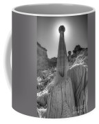 Tower Of Silence Monochrome Coffee Mug