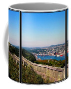 Tower Over The City Triptych Coffee Mug