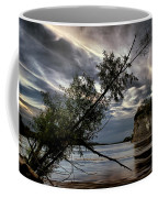 Tower Rock In The Mississippi River Coffee Mug