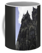 Tower Scaffolding Cologne Cathedral Coffee Mug