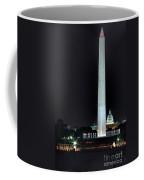 Towering Washington Monument Coffee Mug