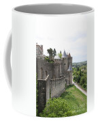 Towers And Townwall  - Carcassonne Coffee Mug
