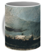 Town At Dusk Coffee Mug by Victor Hugo