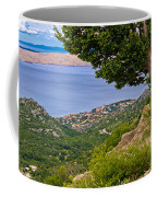 Town Of Karlobag And Island Of Pag Coffee Mug