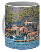 Town Of Kukljica On Ugljan Island Coffee Mug