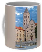 Town Of Zadar Historic Church Coffee Mug