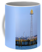 Town Quay Navigation Marker And Fawley Coffee Mug by Terri Waters