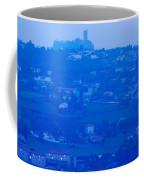 Town With Chateau De Polignac Coffee Mug