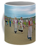 Townsfolk On Main Street In Louisbourg Living History Museum-174 Coffee Mug