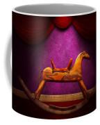 Toy - Hobby Horse Coffee Mug by Mike Savad