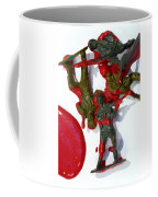 Toy Soldiers In A Pool Of Blood Coffee Mug