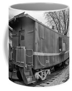 Tpw Rr Caboose Black And White Coffee Mug