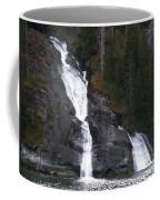 Tracey Arm Fjord Waterfall Coffee Mug