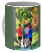 Track Practice Coffee Mug by Susan Savad