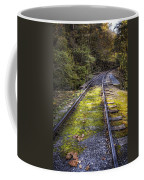 Tracks Along The River Coffee Mug