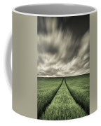 Tracks Coffee Mug by Dave Bowman