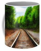 Tracks Through The Woods Coffee Mug