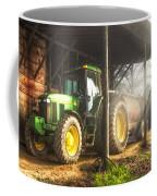 Tractor In The Morning Coffee Mug