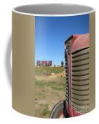 Tractor On The Pumpkin Farm Coffee Mug