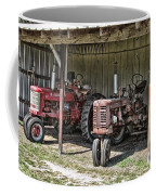 Tractors In The Shed Coffee Mug