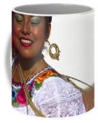 Traditional Ethnic Dancers In Chiapas Mexico Coffee Mug