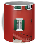 Traditional Red House Coffee Mug