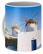 Traditional Windmill In A Village Coffee Mug