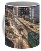 Traffic On Lincoln Street Coffee Mug