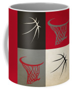 Trail Blazers Ball And Hoop Coffee Mug