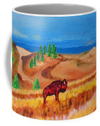 Monarch Of The Plains Coffee Mug