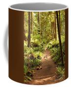 Trail Through The Rainforest Coffee Mug by Carol Groenen