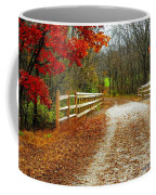 Trailing In Autumn Coffee Mug