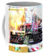 Train Abstract Blend 1 Coffee Mug
