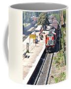 Train At Delhi Station Coffee Mug