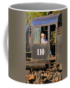 Train Conductor Coffee Mug