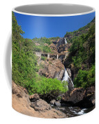 Train Crossing Dudhsagar Falls Coffee Mug